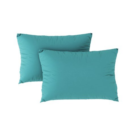 Premium pillow case 10 Teal green (2pcs)
