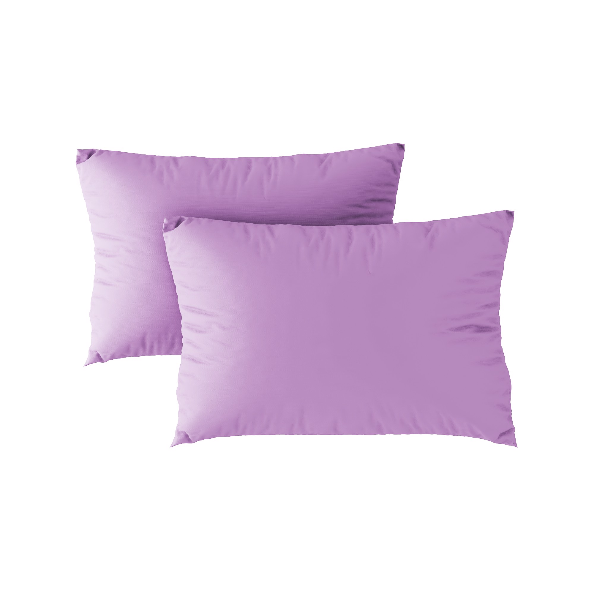 Standard pillow case 10 Light purple (2pcs)
