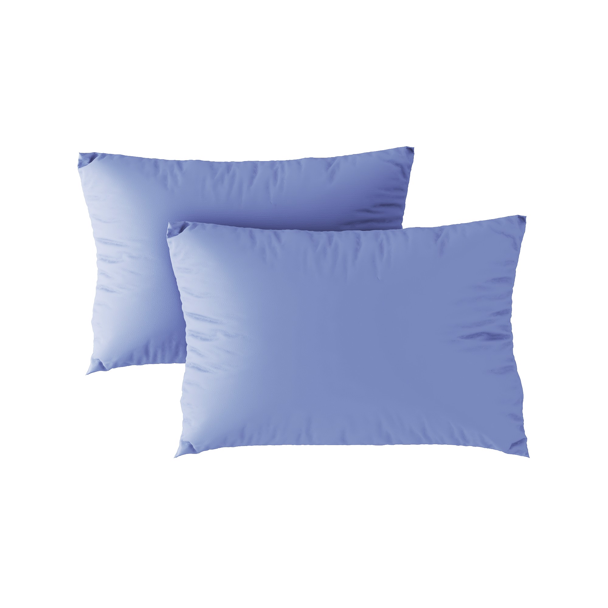 Standard pillow case 11 Grey blue (2pcs)