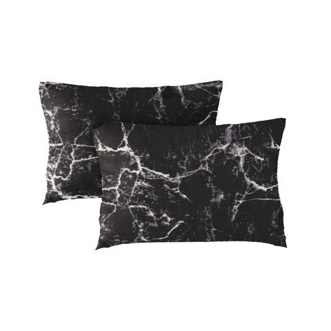 Pillow case 196 Black marble