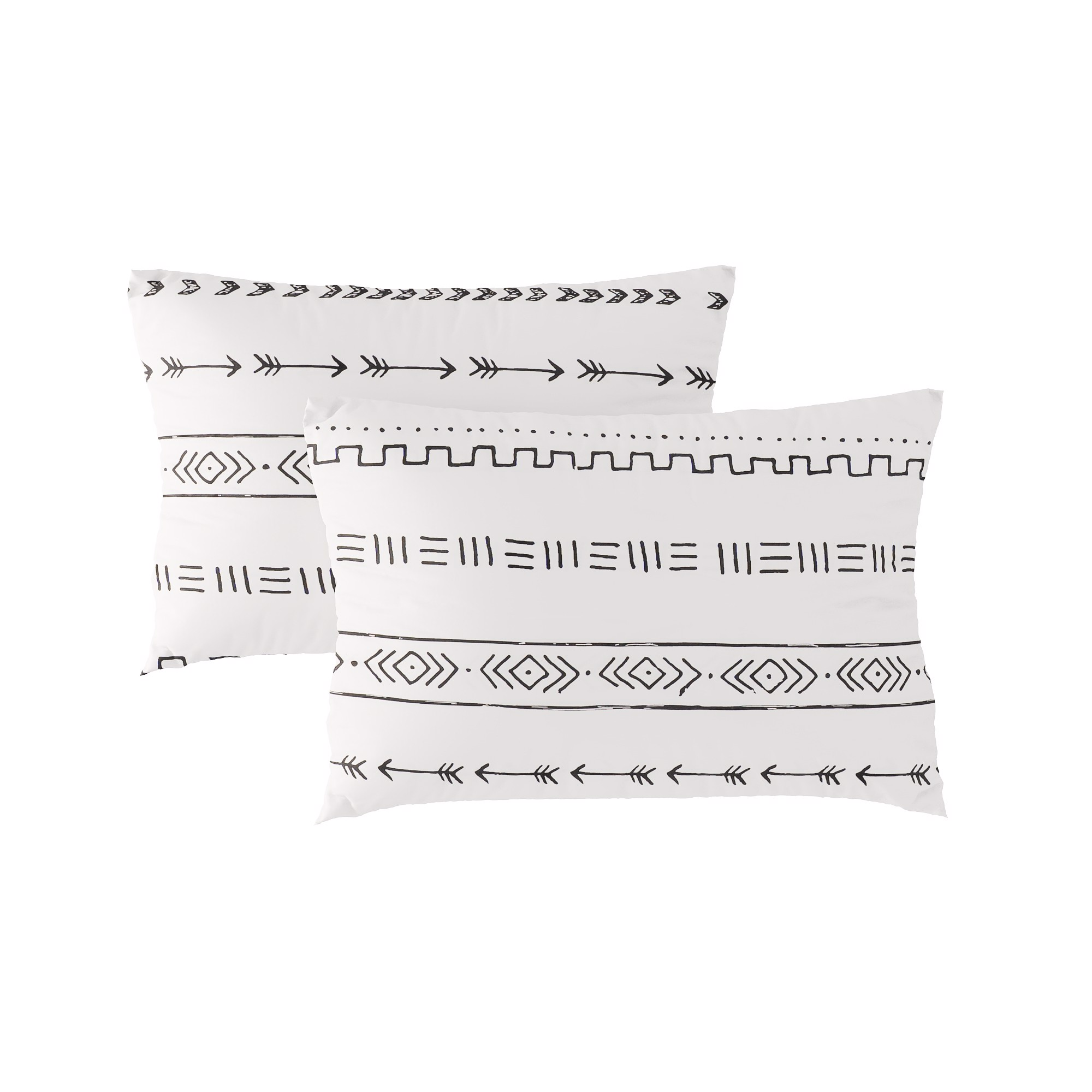 Pillow case 199 White bohemian