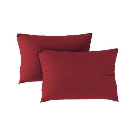 Premium pillow case 12 Wine red (2pcs)