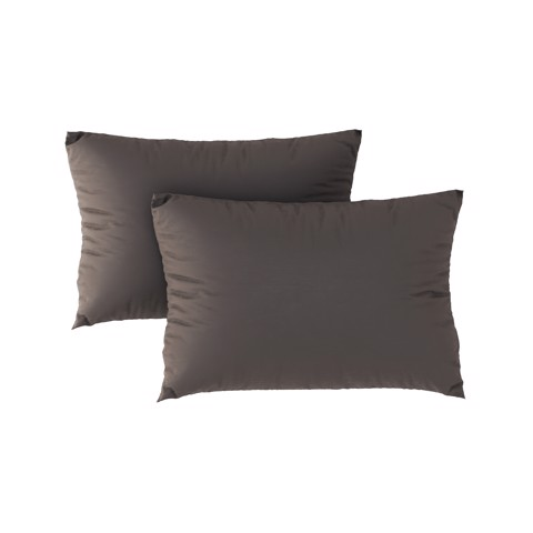 Premium pillow case 14 Dark grey (2pcs)