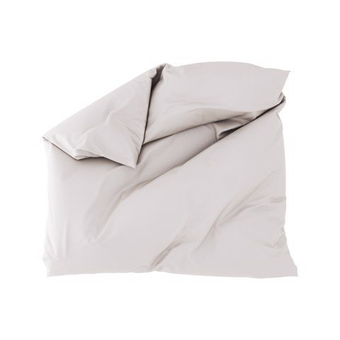 Premium duvet cover 01 Smoke grey