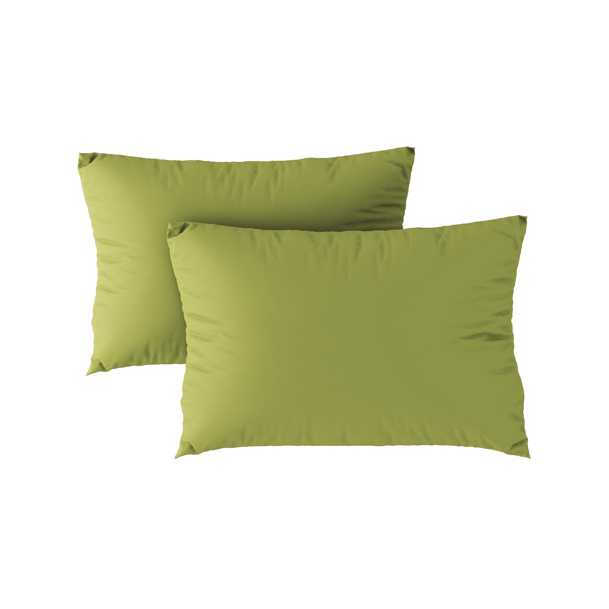 Standard pillow case 01 Light green (2pcs)