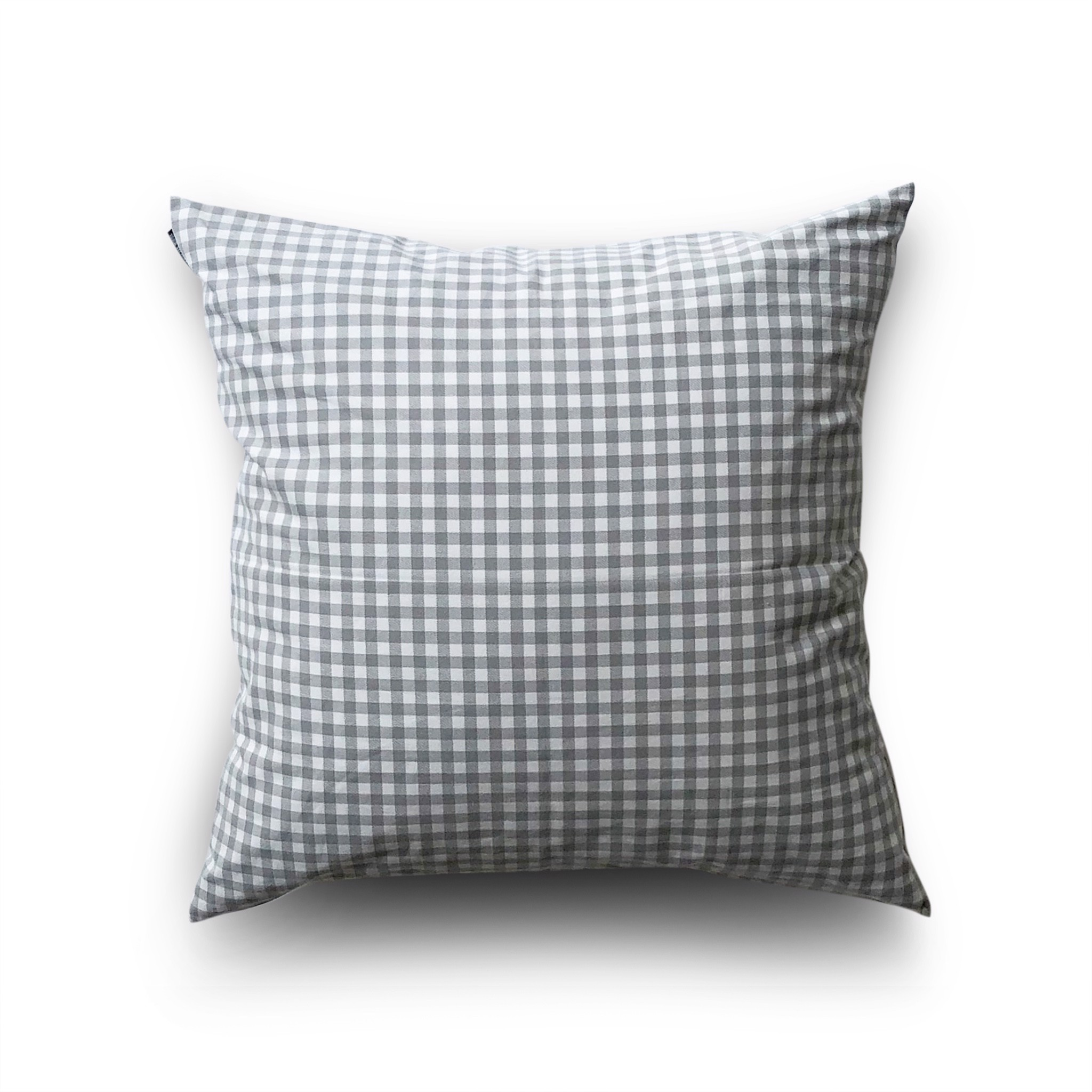 Cushion cover 21 Grey white grid
