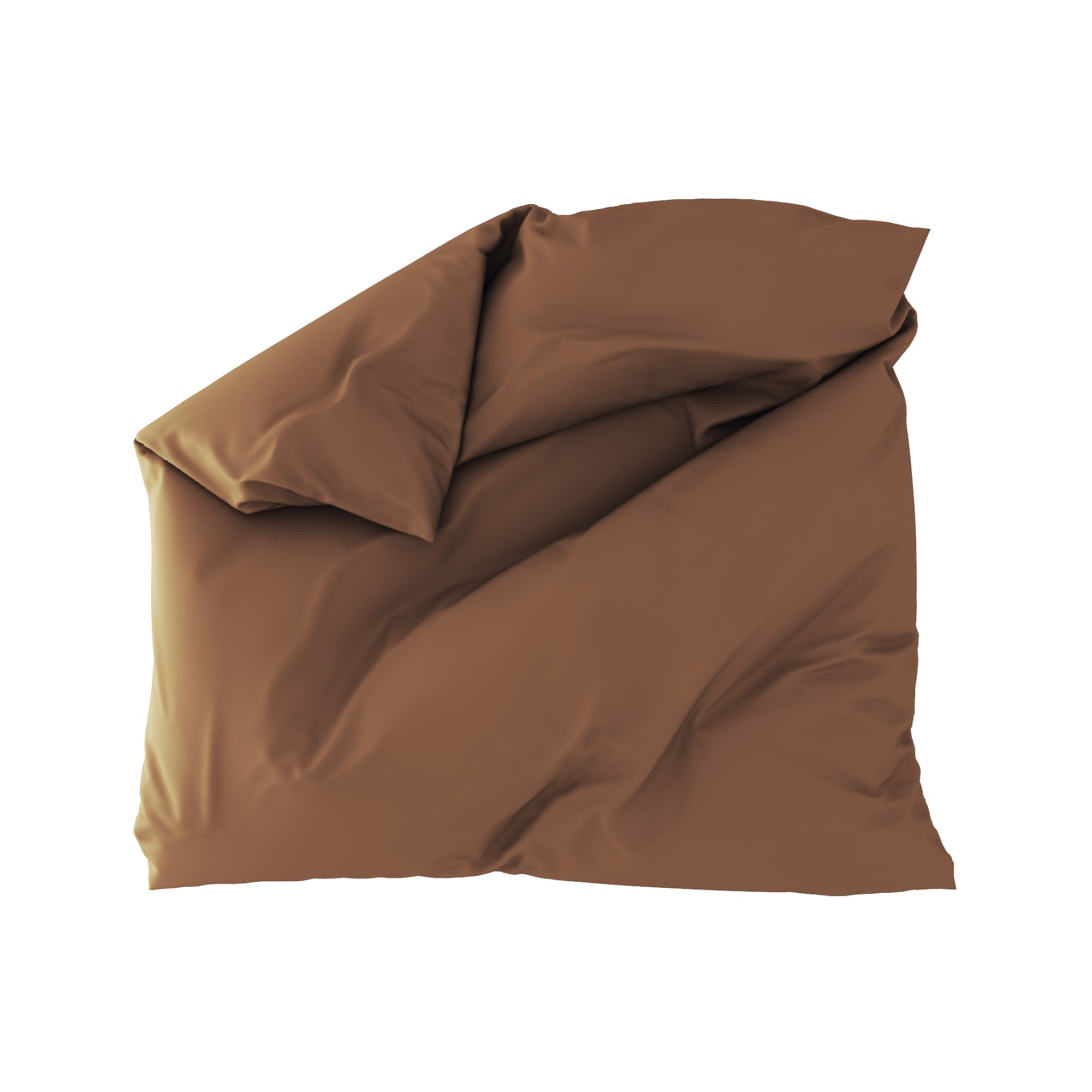 Standard duvet cover 21 Dark brown