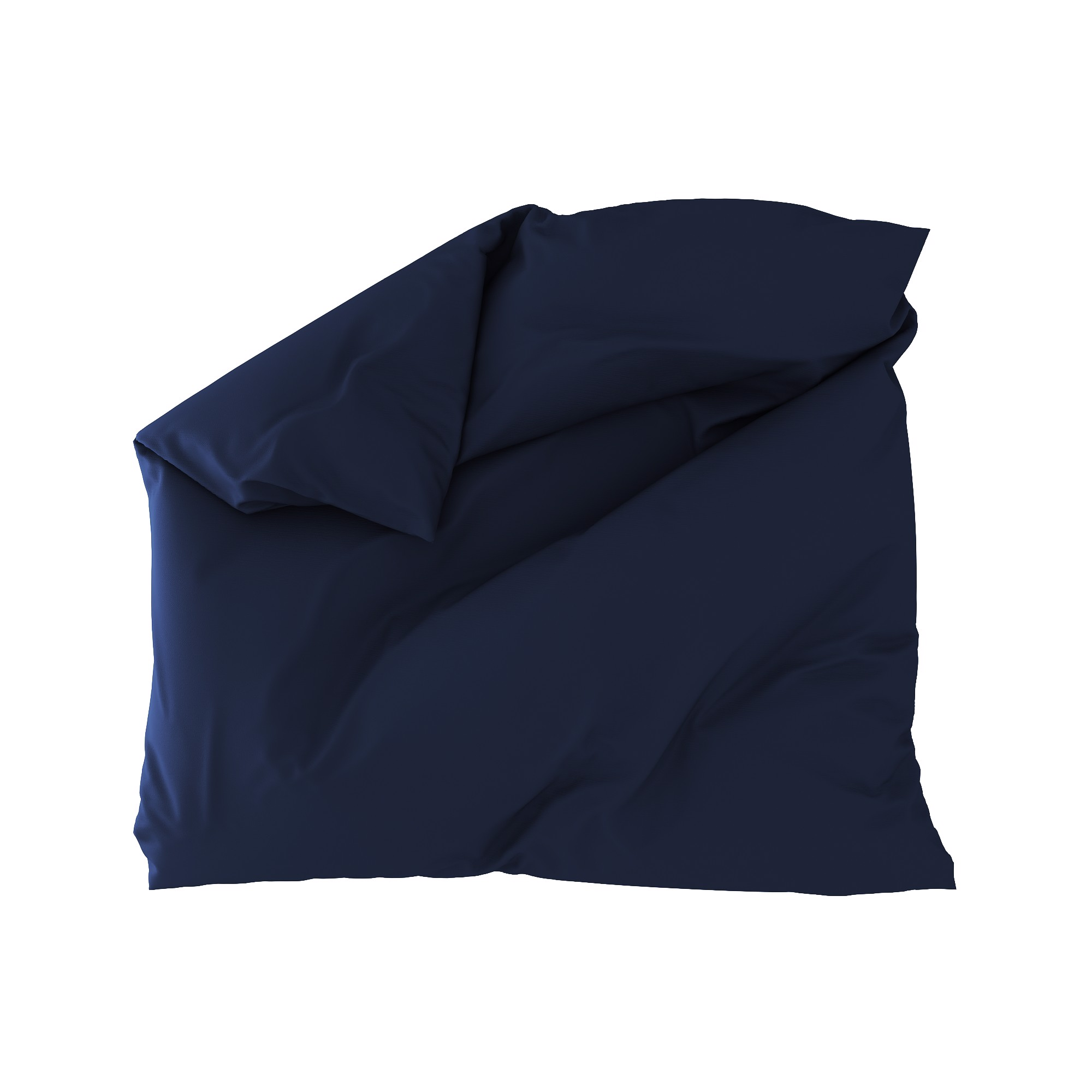 Standard duvet cover 22 Navy blue