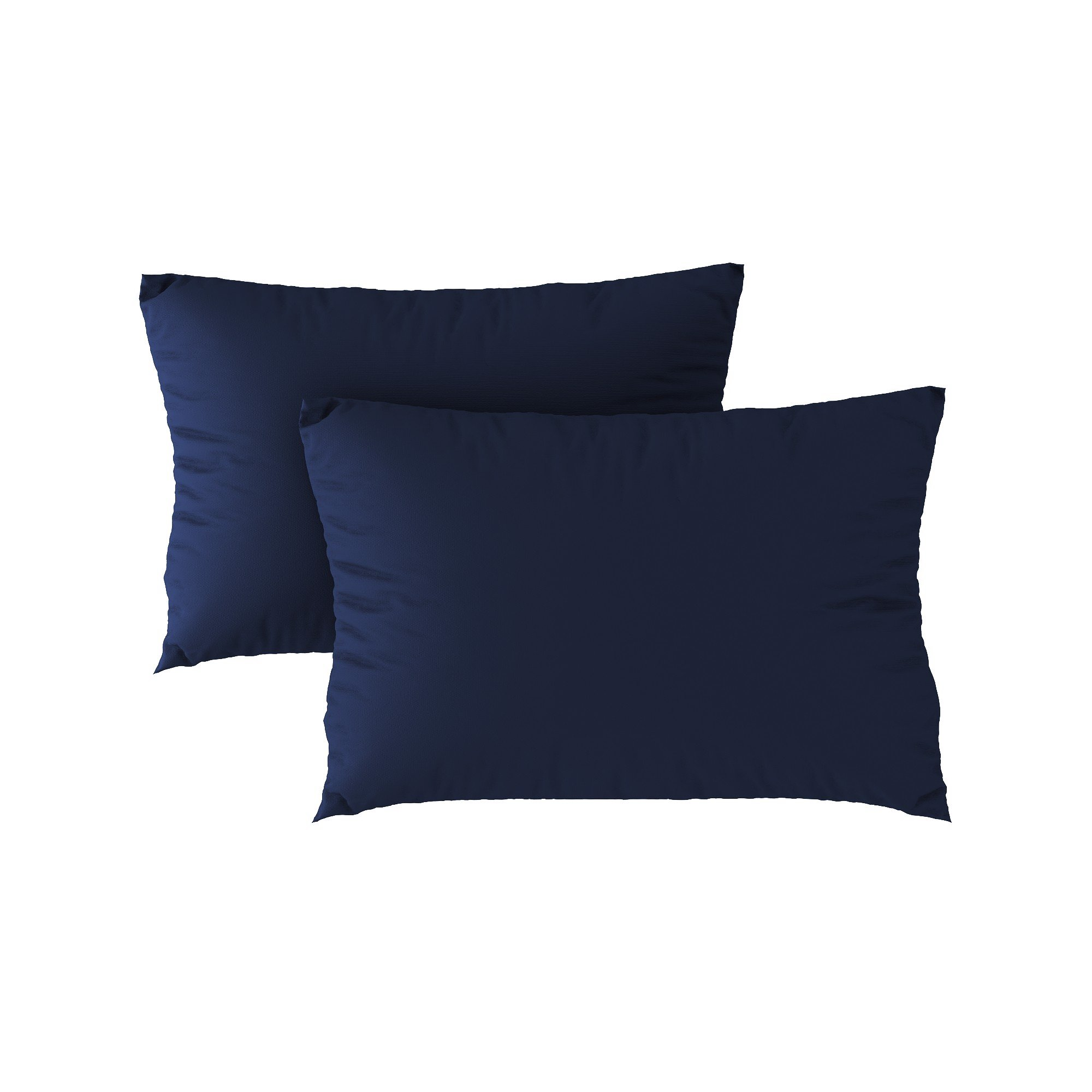 Standard pillow case 22 Navy blue (2pcs)