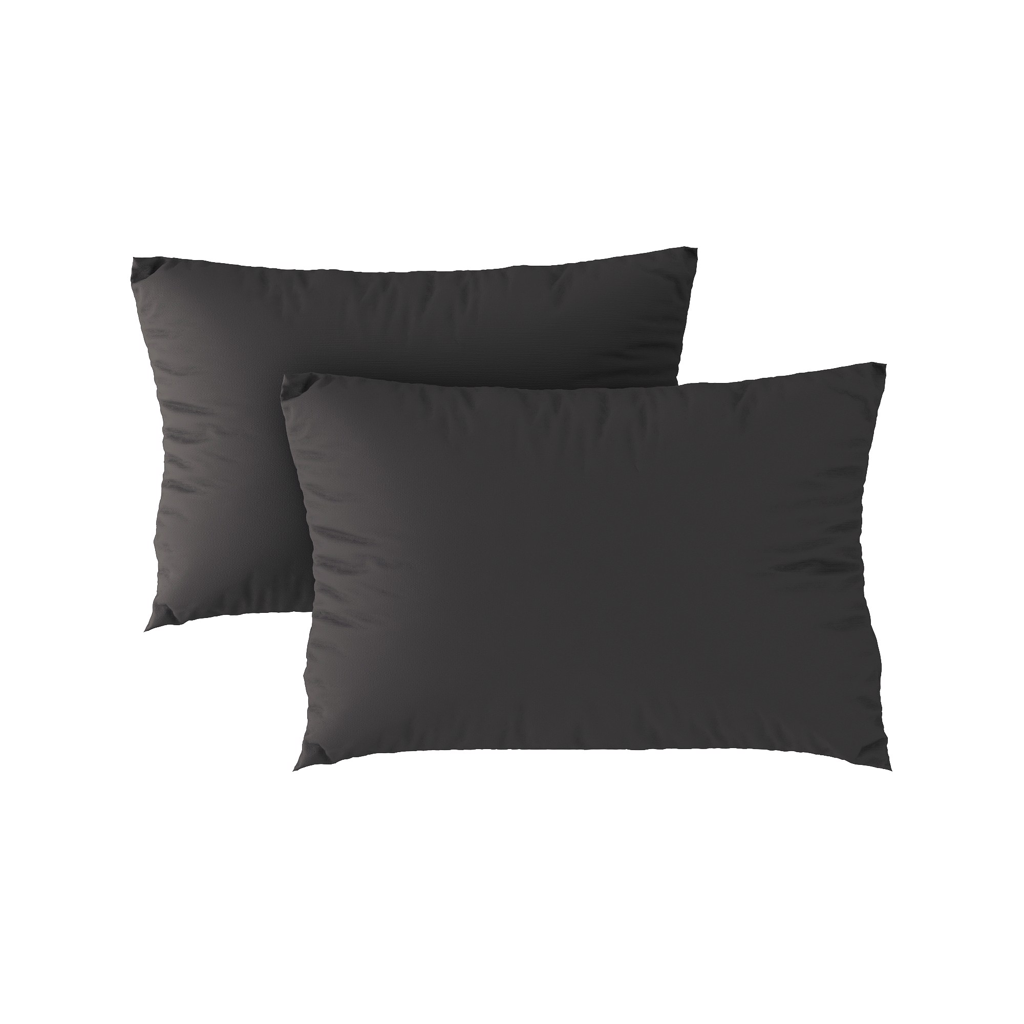 Standard pillow case 23 Dark grey (2pcs)