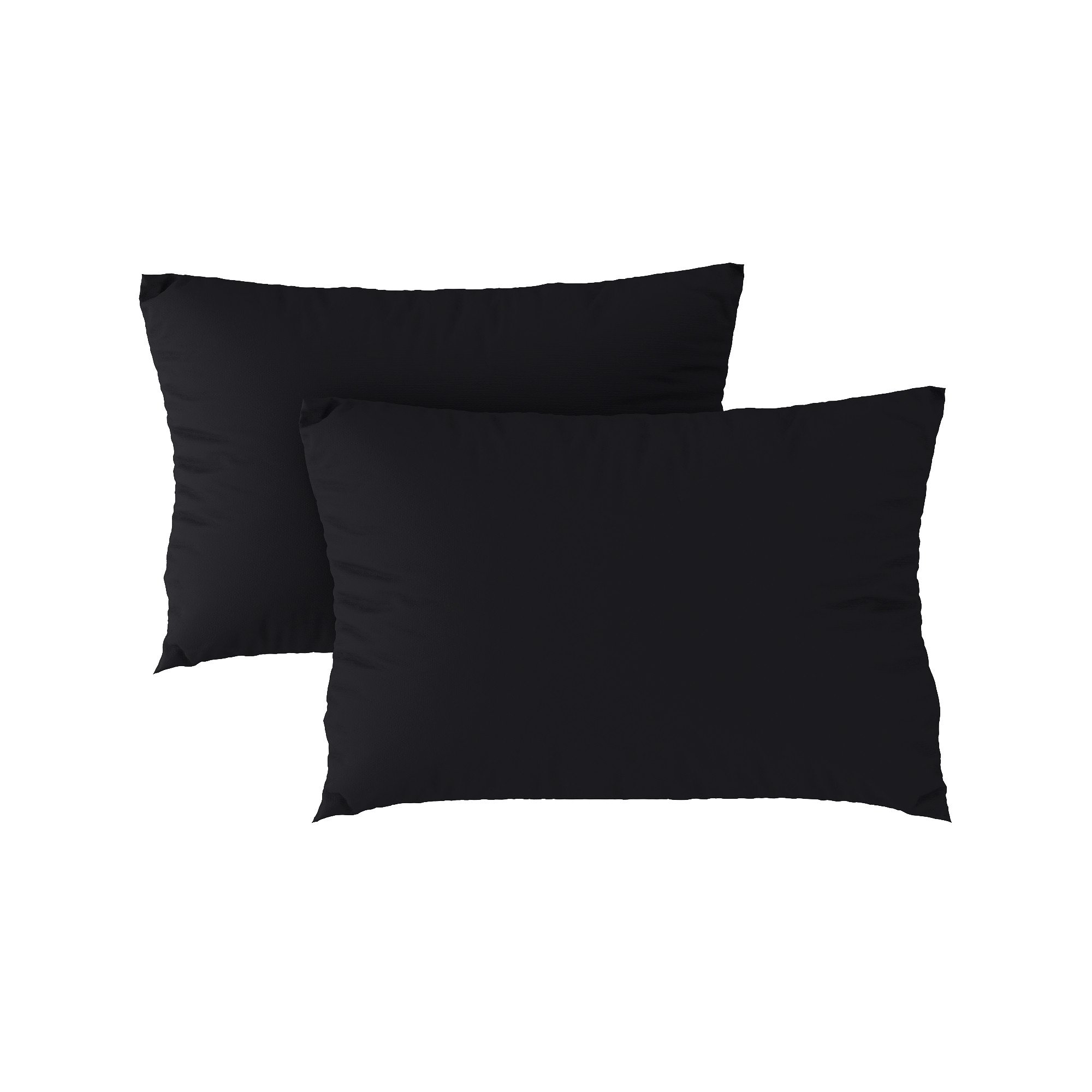 Standard pillow case 24 Black (2pcs)