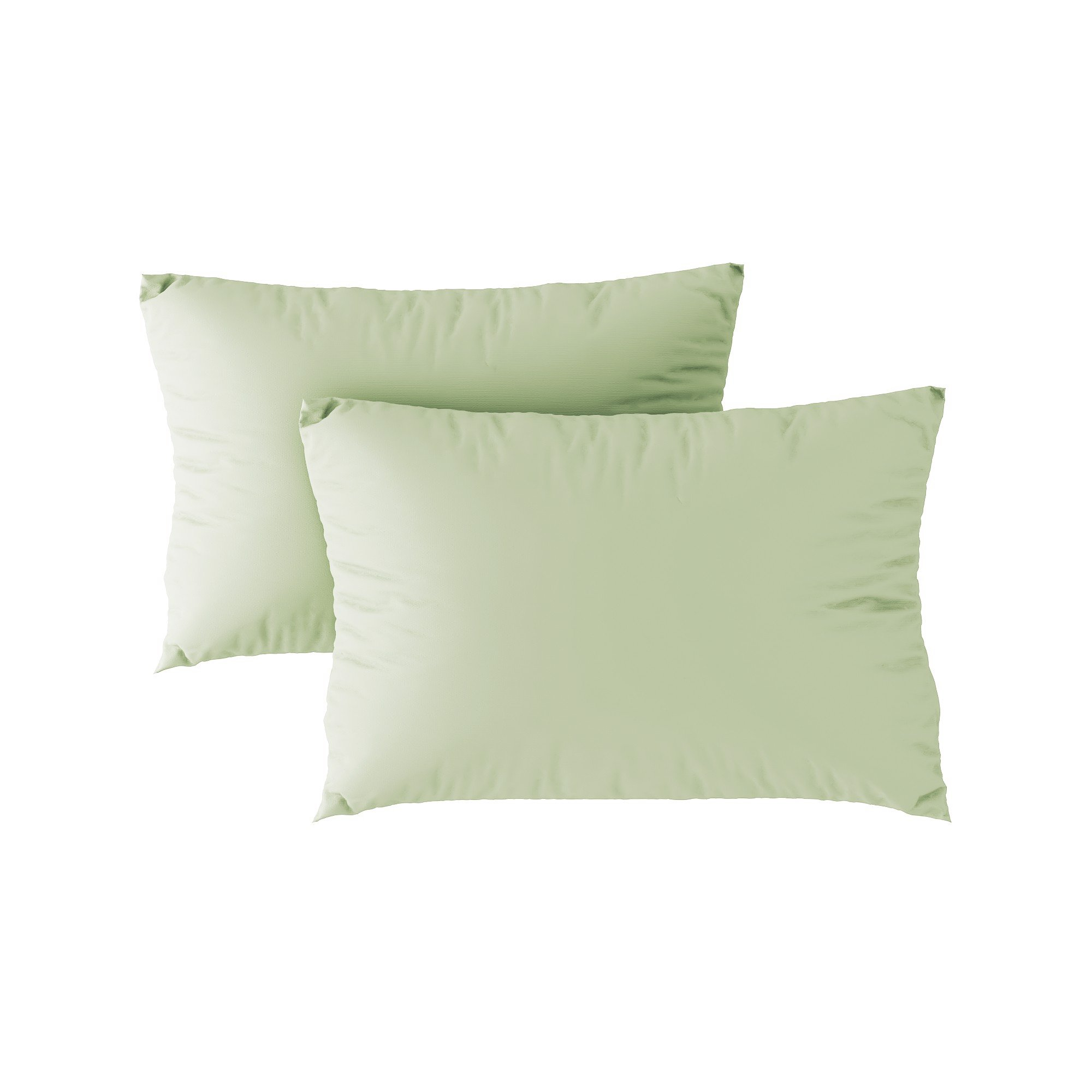 Standard pillow case 26 Sage green (2pcs)