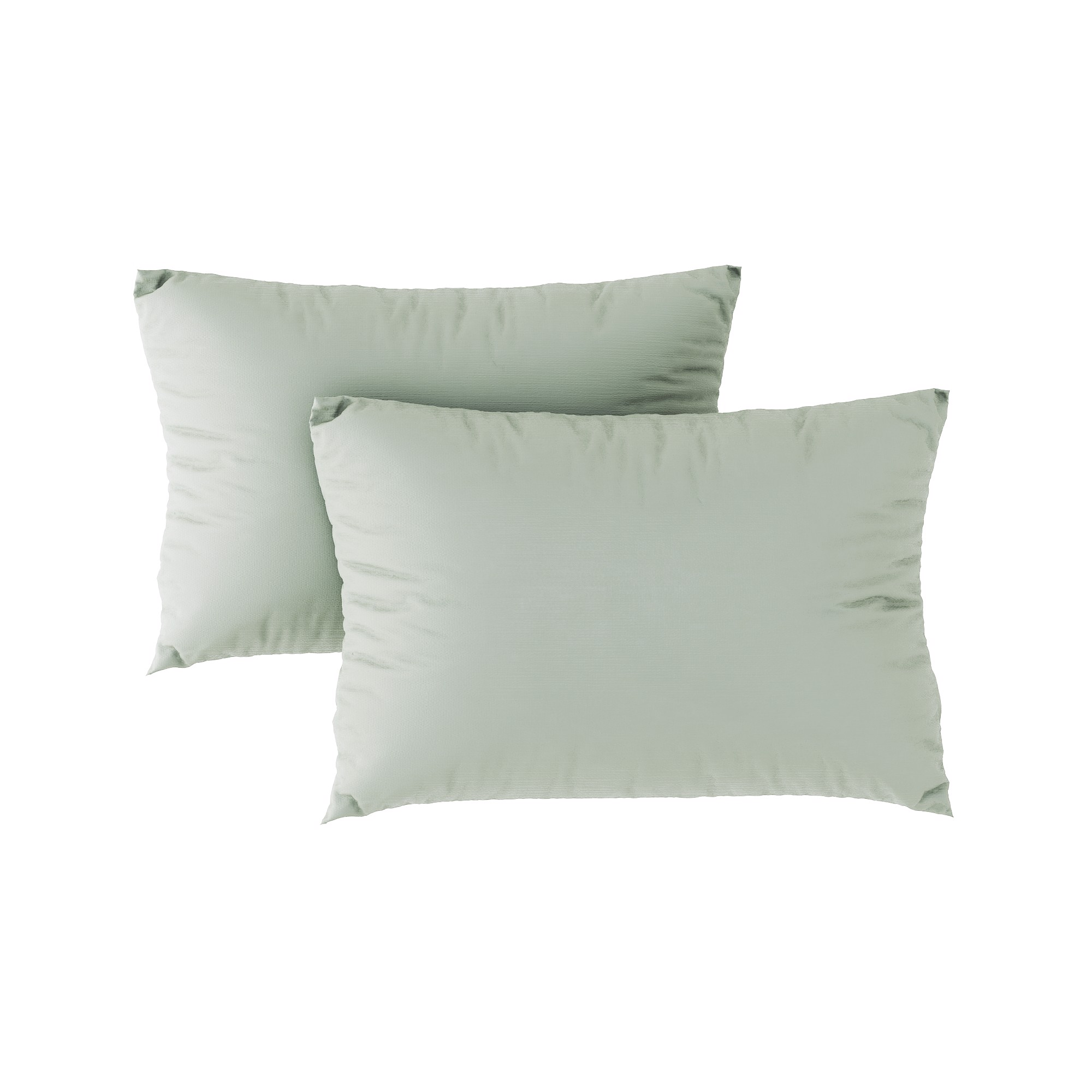 Premium pillow case 02 Pistachio green (2pcs)