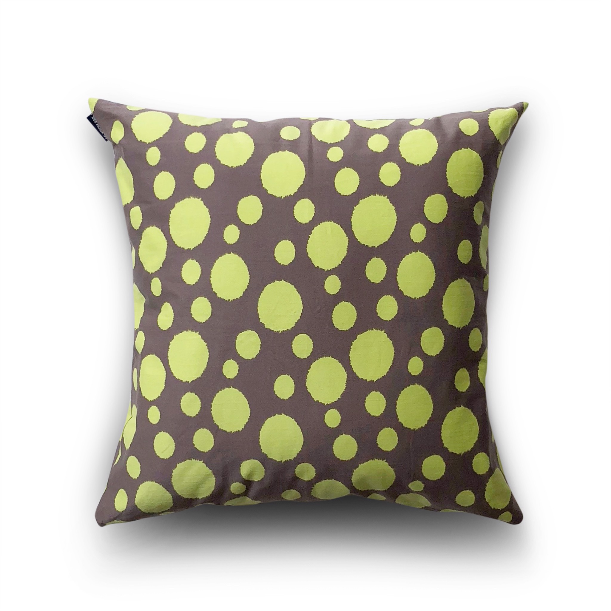Cushion cover 37 Green polka dot