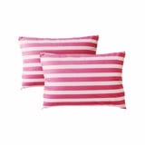 Pillow case 409 Pink white striped