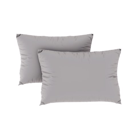 Tencel pillow case 02 Light grey