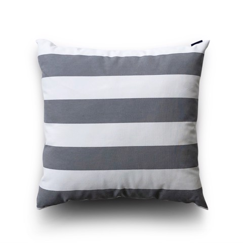 Cushion cover 57 Grey stripes