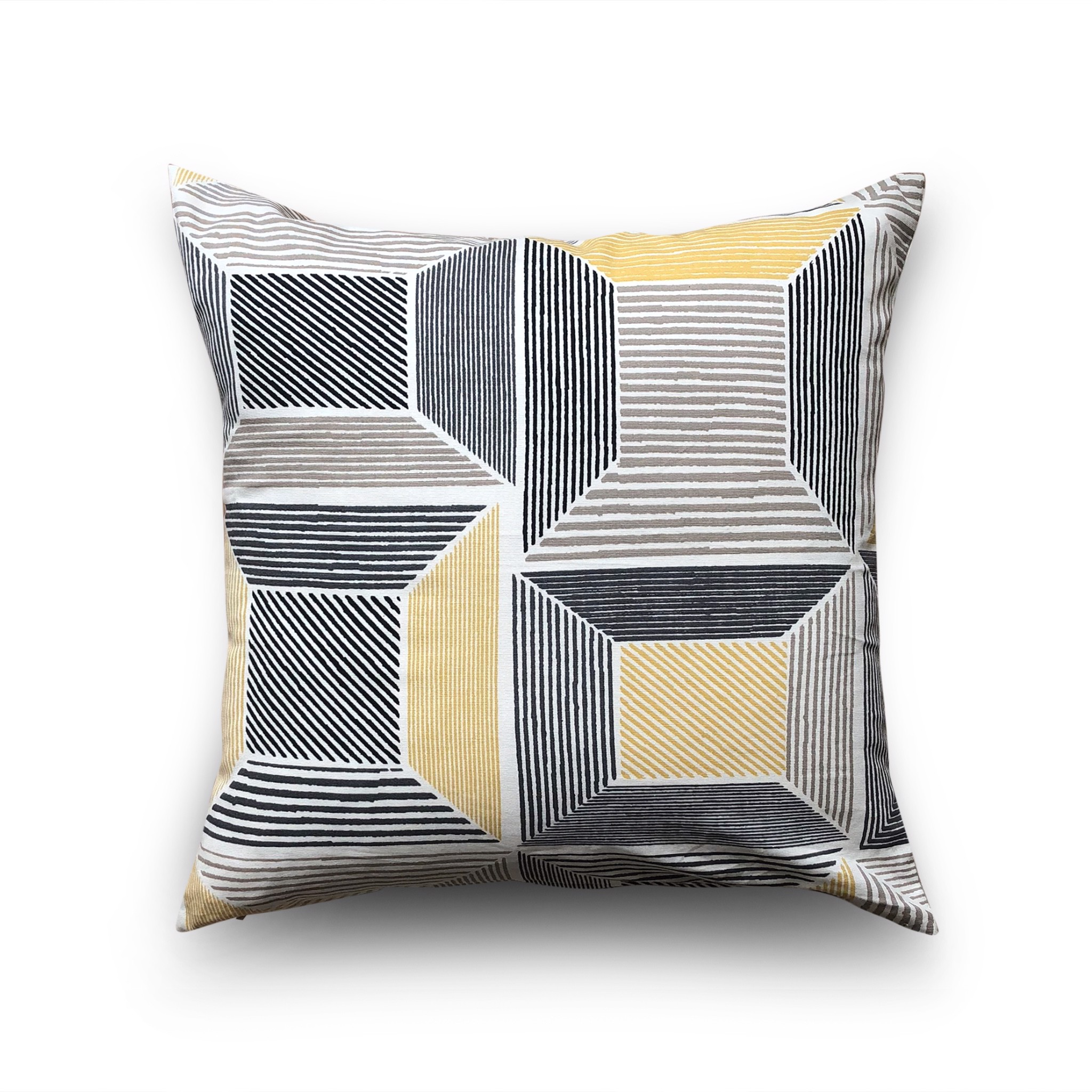 Cushion cover 68 Big yellow square