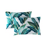 Pillow case 133 Tropical leaves