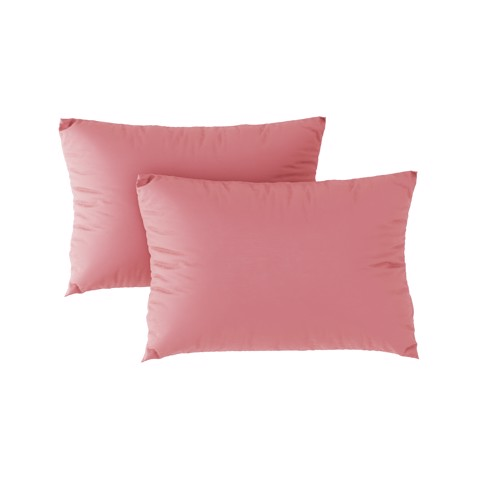 Premium pillow case 08 Salmon pink (2pcs)