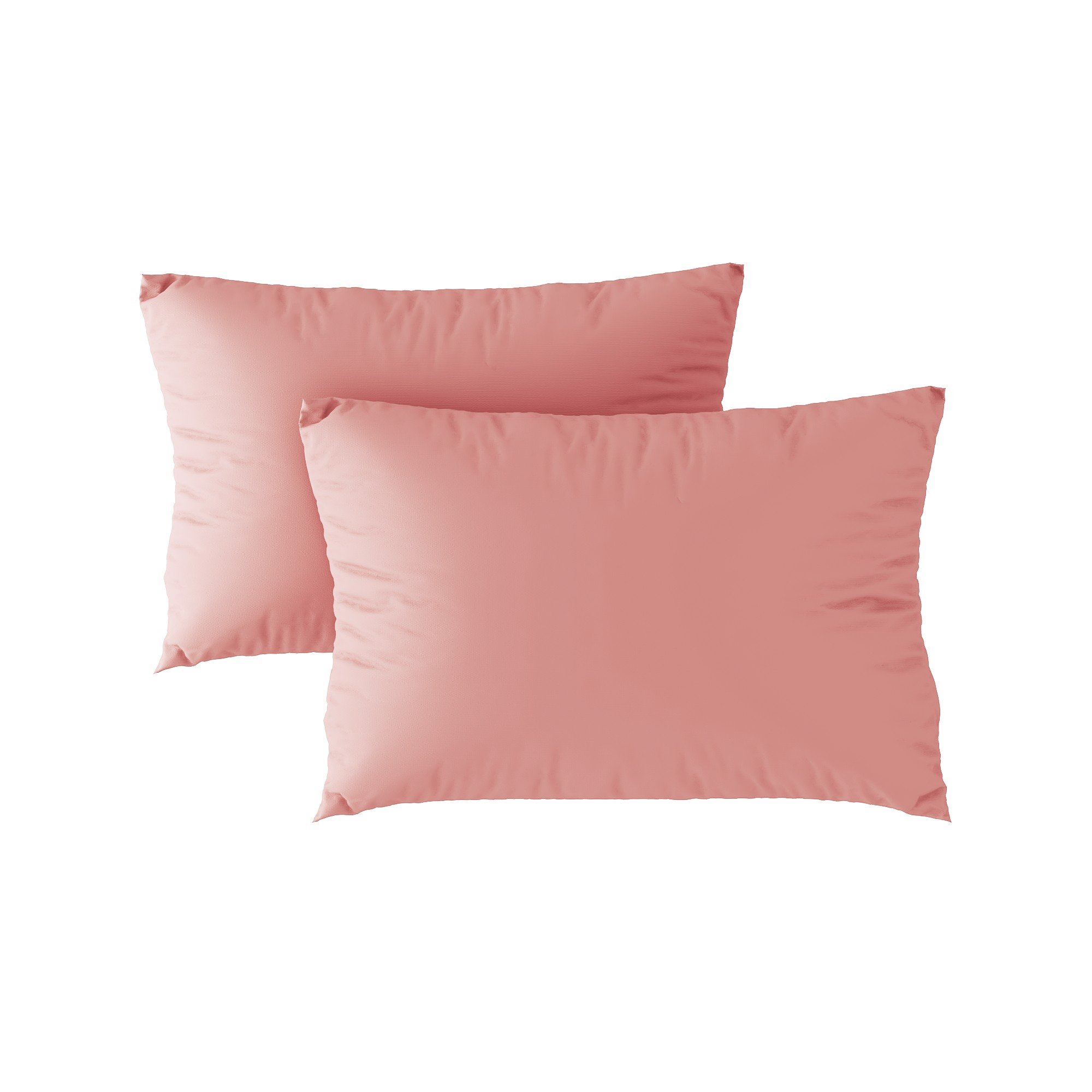 Standard pillow case 08 Light pink (2pcs)