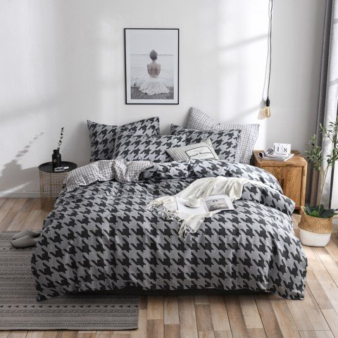 Best price 118 Houndstooth on grey