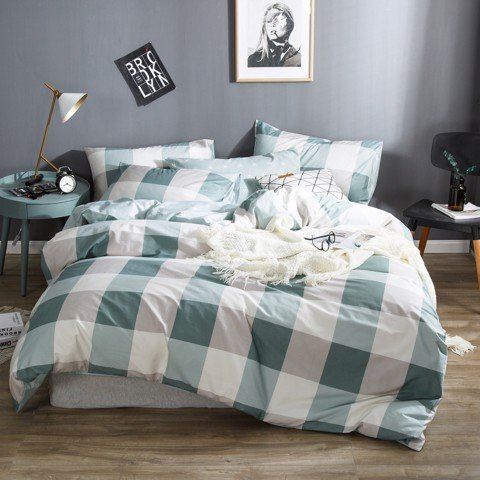 Best price 122 Vintage green checkerboard