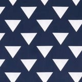 Best price 123 White triangle on navy