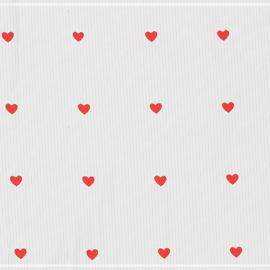 Pillow case 197 Small hearts