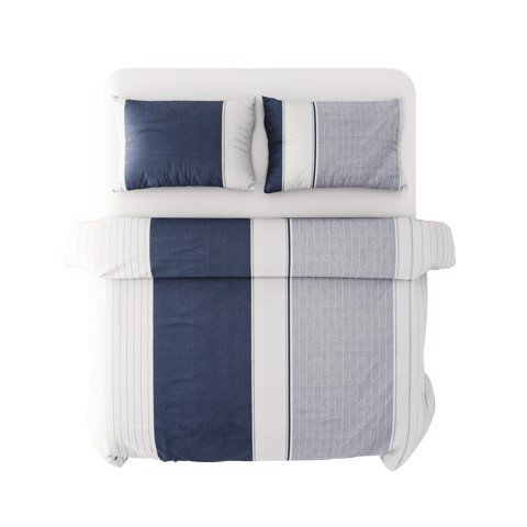 Best price 214 Navy and white stripes