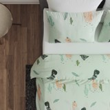 Best price 224 Tencel Mint dinosaur