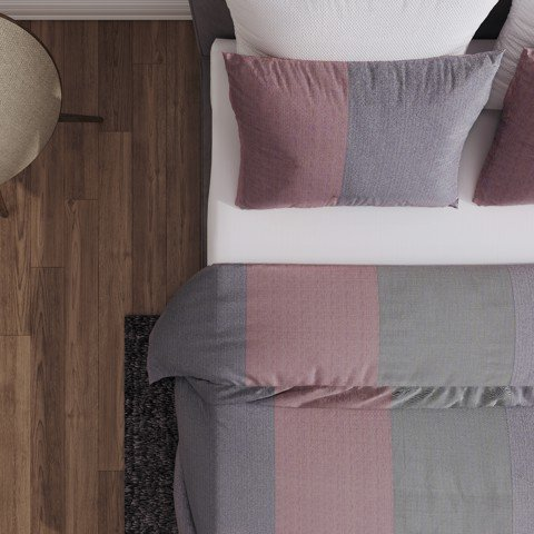 Pillow case 278 Tricolor stripes