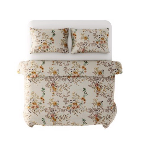 Best price 245 Flowers on beige