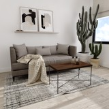 Bàn sofa X - Brown wood