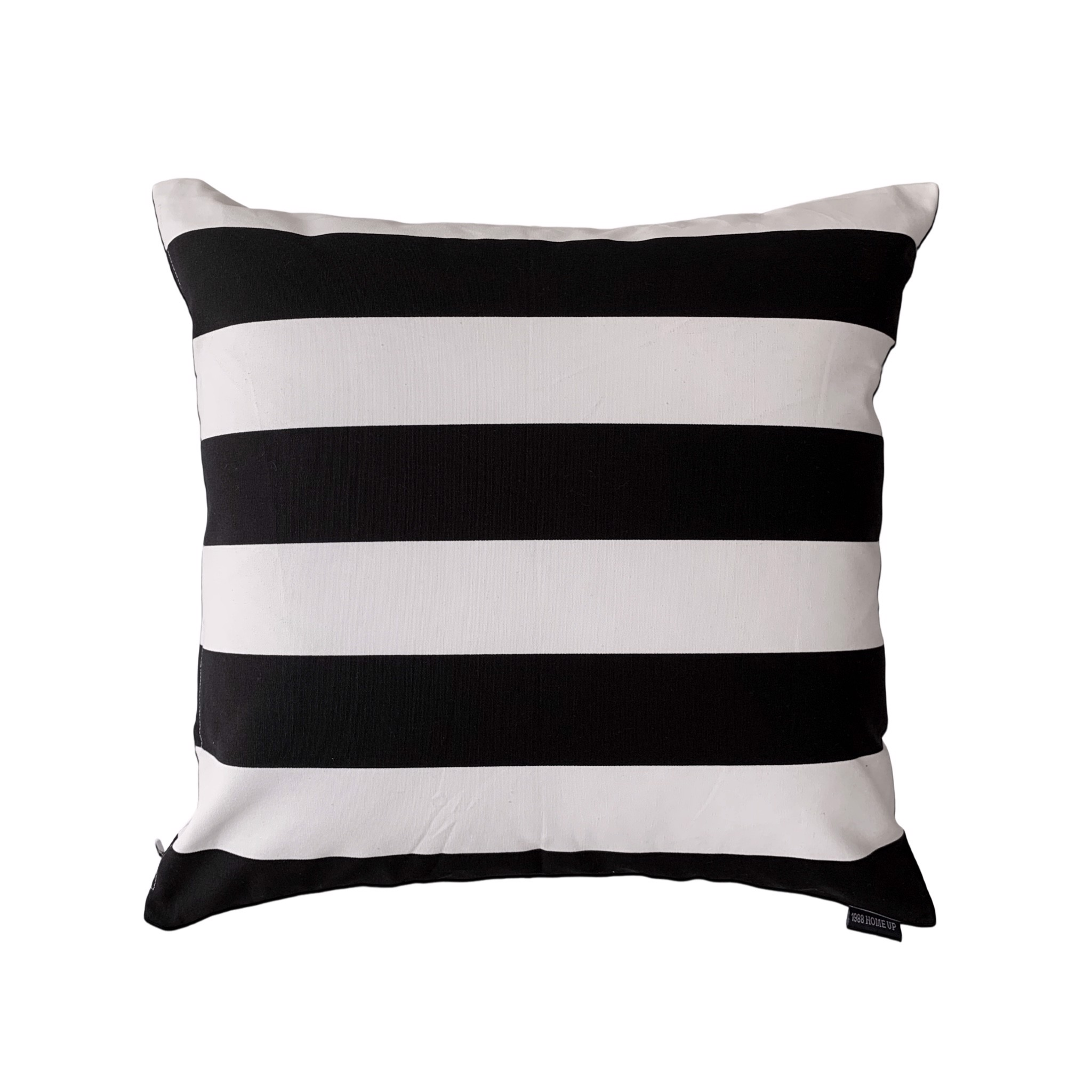 Cushion cover 86 Black striped