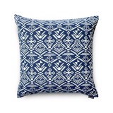 Cushion cover 81 Navy brocade