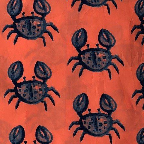 Pillow case 099 Crab