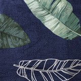 Best price 066 Leaves on navy blue
