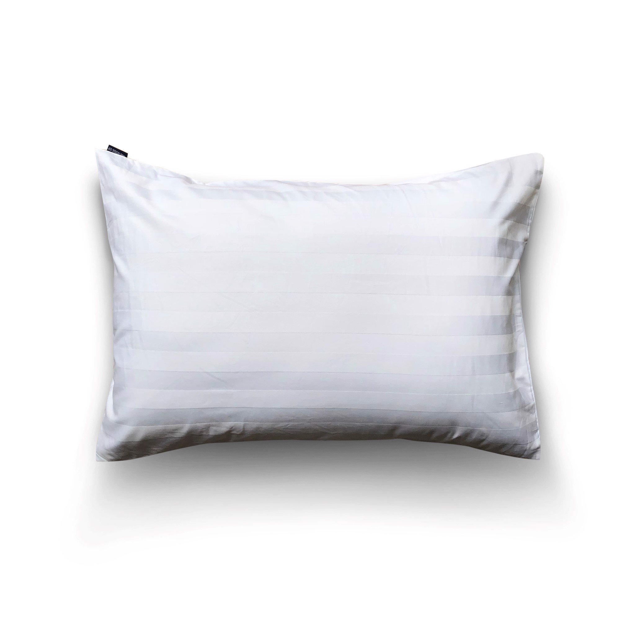 Pillow case 3cm white striped (2pcs)