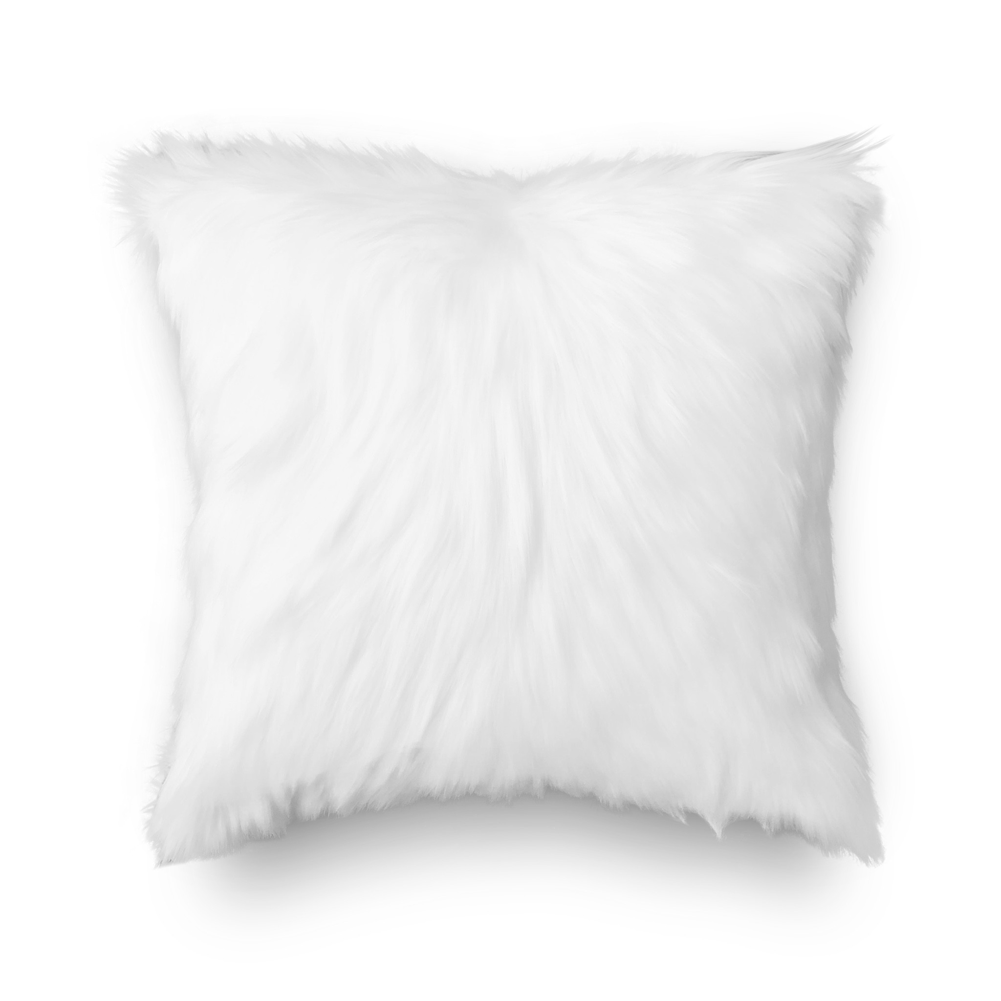 Cushion cover 76 Luxury Soft Fleece White