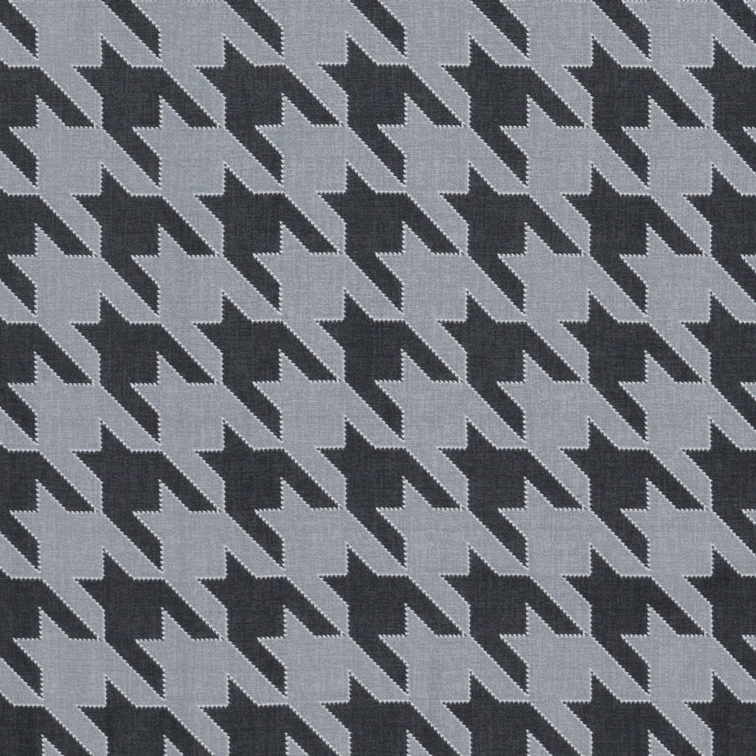 Pillow case 163 Houndstooth on grey