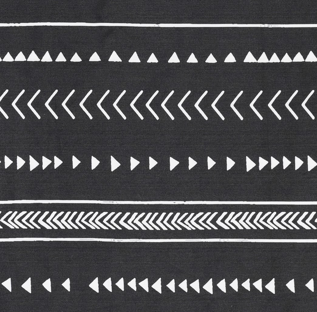 Pillow case 173 Black & White bohemian