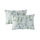 Pillow case 191 Flowers on light blue