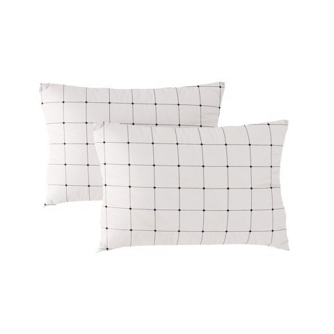 Pillow case 215 Two side grid