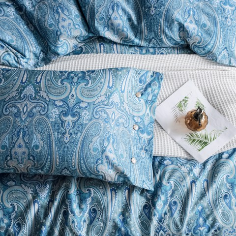 Pillow case 211 Blue classic pattern
