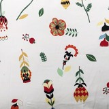 Pillow case 213 Flowers and leaves