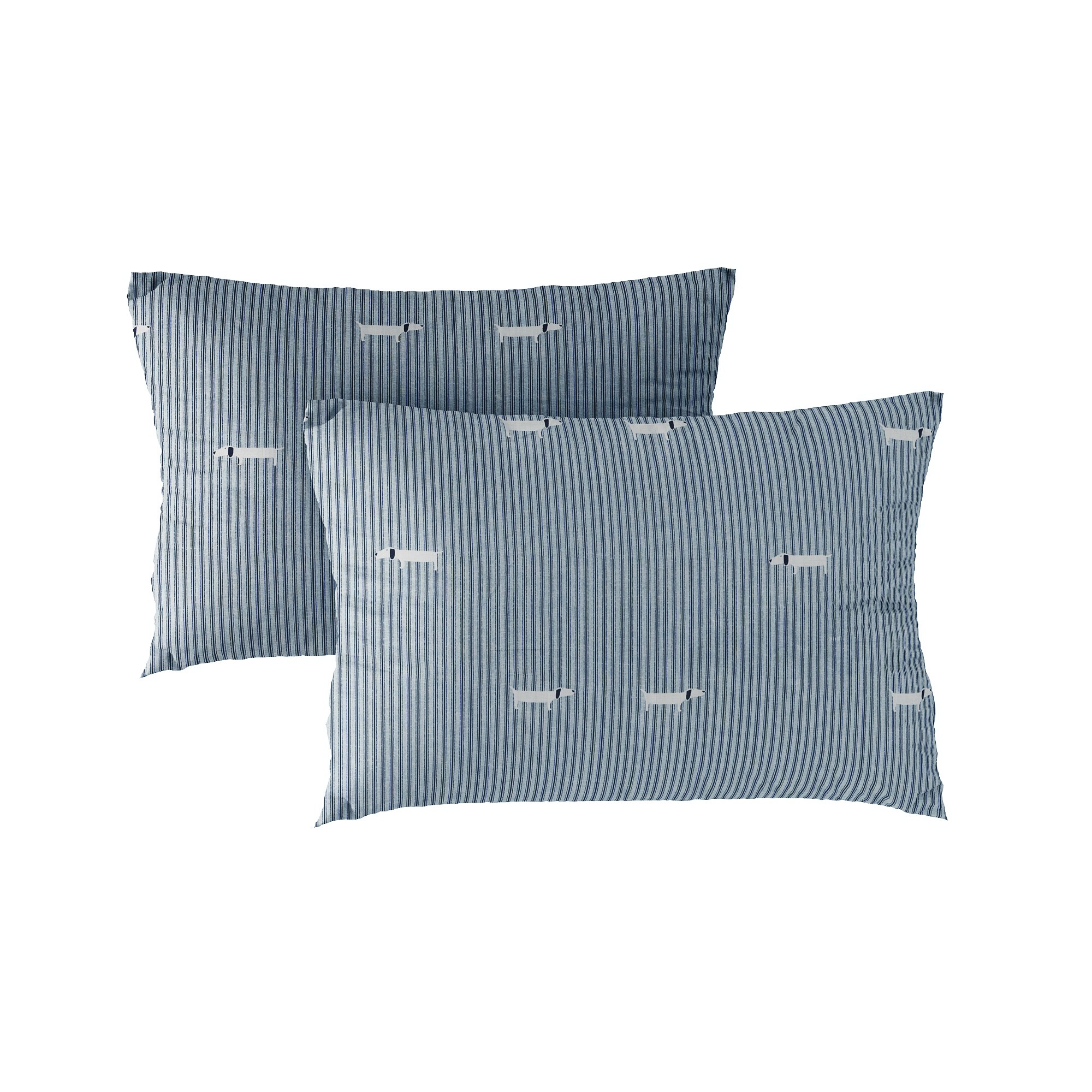 Pillow case 220 Dachshund on grey