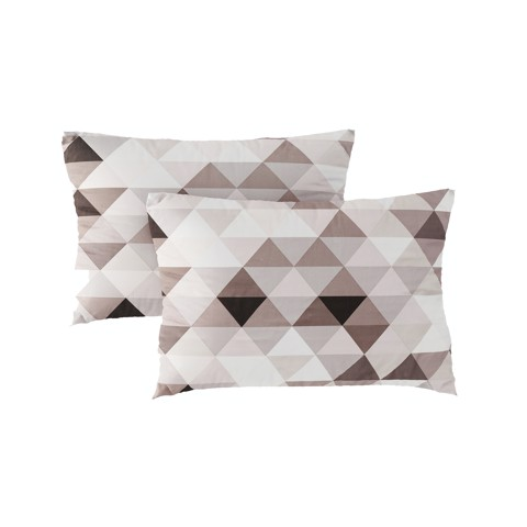 Pillow case 226 Pastel triangle