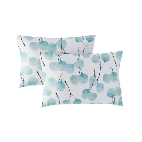 Pillow case 233 Orbicular leaf