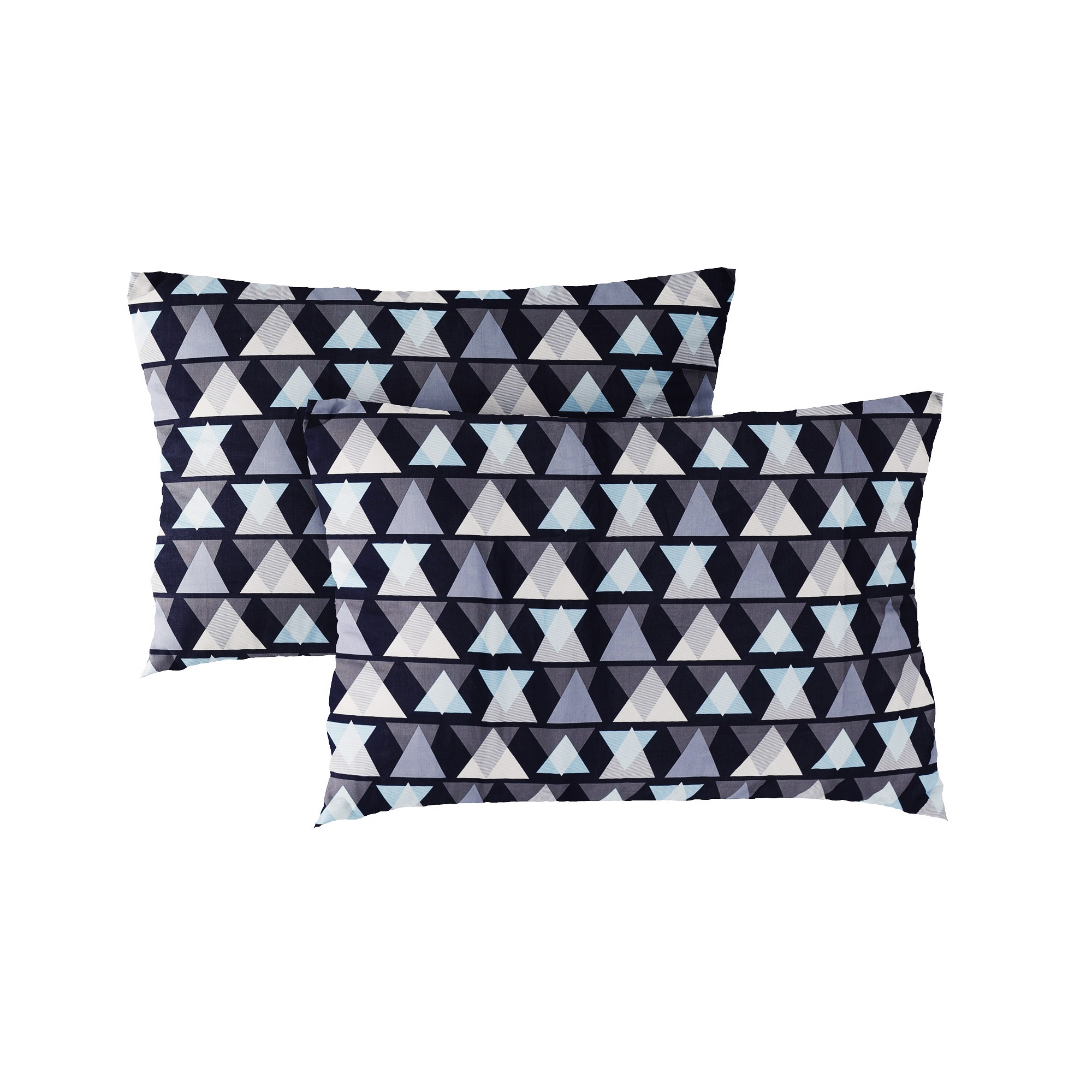 Pillow case 248 Colorful triangle